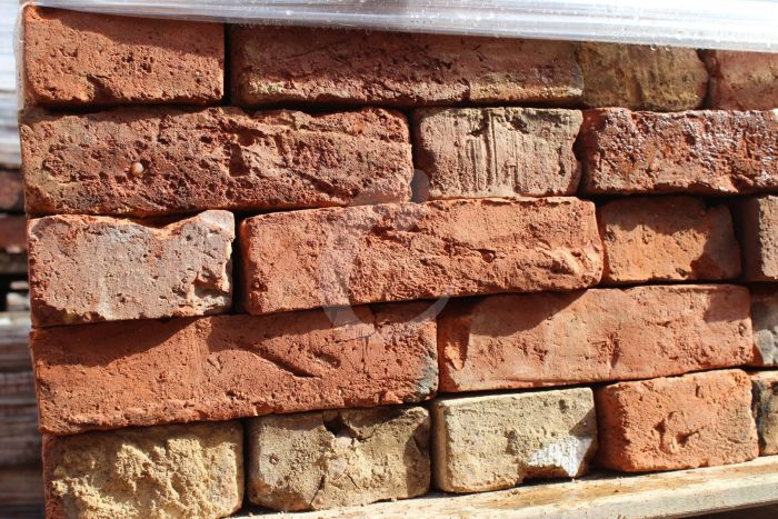 Reclaimed Red/Orange Brick - Best Handmade 55mm | Cawarden Reclaim