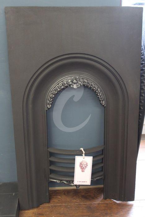 Cast Iron Fireplace Insert Rec419, Can You Sandblast Cast Iron Fireplace