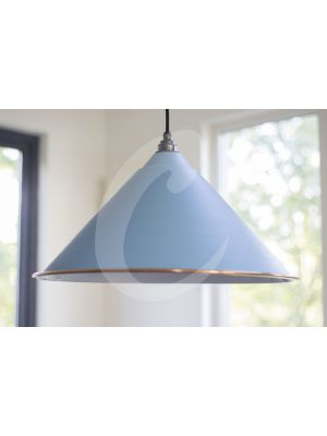 PALE BLUE & WHITE INTERIOR HOCKLEY PENDANT
