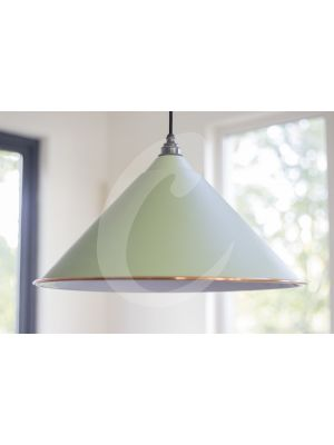 SAGE GREEN & WHITE INTERIOR HOCKLEY PENDANT