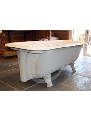 Original English Cast Iron Plunger Bath
