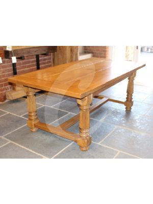 Reclaimed Dining Table made from Oak
