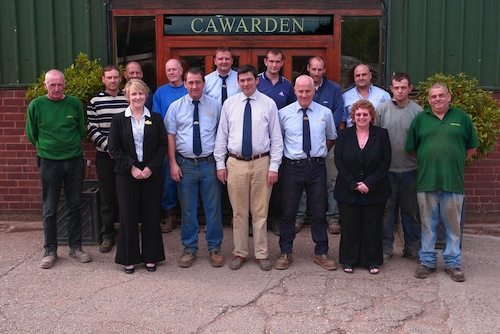 Group photo of the Cawarden Reclaim team.
